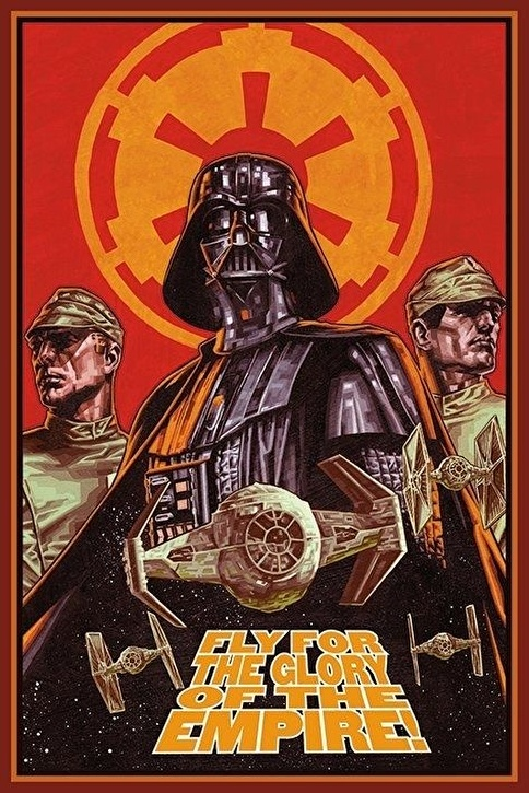 Pyramid International Maxi Poster Star Wars Fly For Glory Renkli